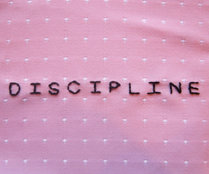 pink, discipline, and pale image