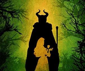 disney, maleficent, and aurora image