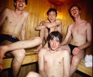 alex james, blur, and damon albarn image