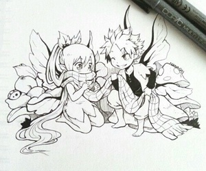 nalu, fairy, and fairy tail image