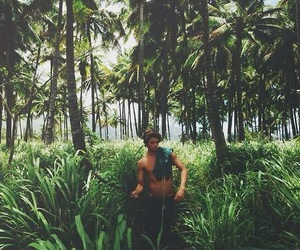 boy, jungle, and summer image