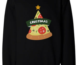 christmas sweater, cool sweatshirt, and holiday outfit image