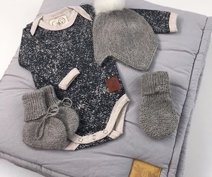 baby, clothes, and grey image