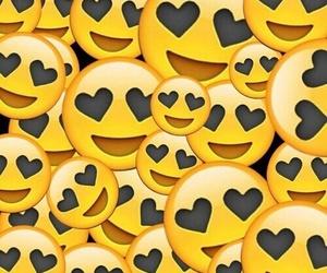 emoji, black, and wallpaper image