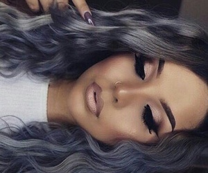 eyebrows, flawless, and grey hair image