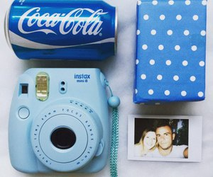 blue and coca cola image