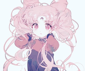 anime, fan art, and pink image