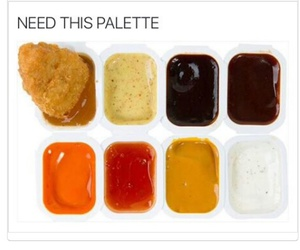 funny, hilarious, and palette image