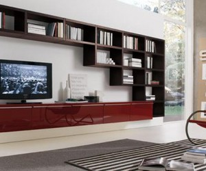 wall units, wall unit, and living room cabinets image