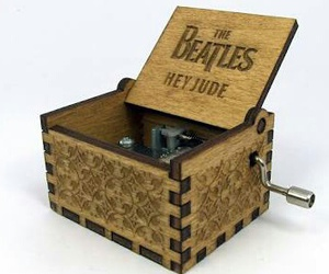 beatles, box, and music image
