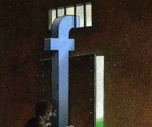 facebook, art, and prison image