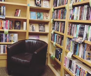 alone, books, and bookshop image