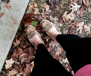 fall, leggings, and tumblr image