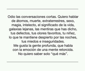 odio, me gusta, and frases image