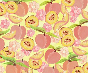 fruit, peach, and background image