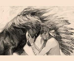 animal, girl, and Sagittarius image