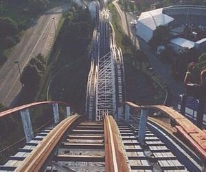 fun and rollercoaster image