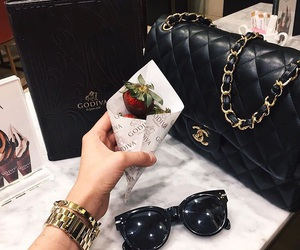 chanel and strawberry image