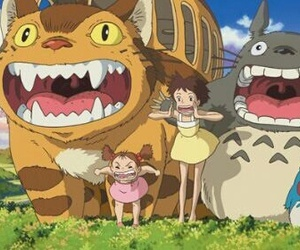 totoro, anime, and studio ghibli image