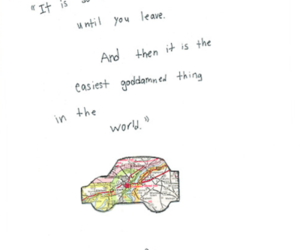 quote, paper towns, and john green image