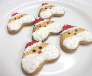 christmas, Cookies, and santa image