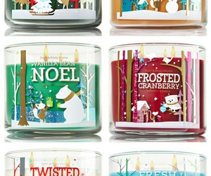 christmas, winter, and bath and body works image