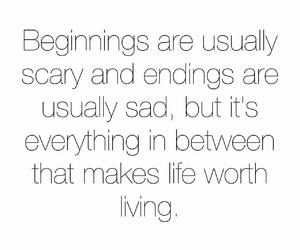 black, endings, and life image