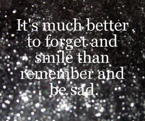 quote, text, and smile image