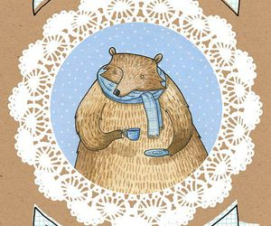 bear, Hot, and cup image