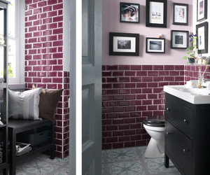 bathroom, hemnes, and home image