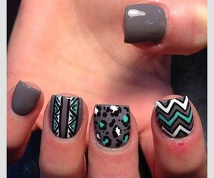 fashion, manicure, and tribal image