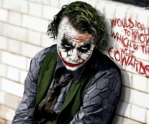 joker, batman, and coward image