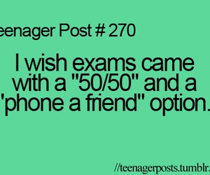 teenager post, exams, and quote image