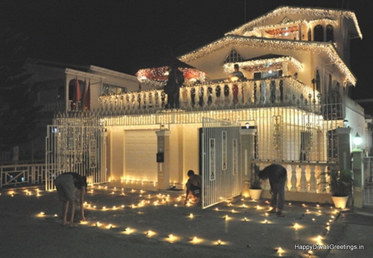 Beautiful 15 Diwali Lighting Decoration Ideas For Home 2015
