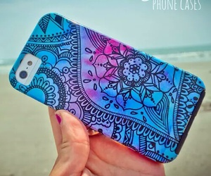 iphone, beach, and hipster image