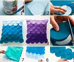 diy, Easy, and pillow image