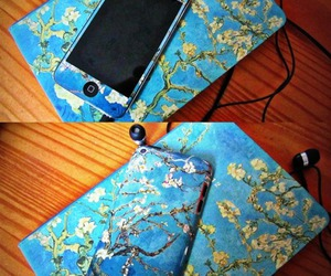 vincent van gogh, ipod touch 4g, and skunk wraps image