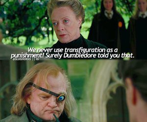 goblet of fire, harry potter, and professor mcgonagall image