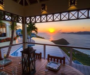 beautiful, dream home, and british virgin islands image