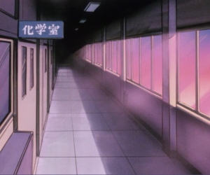 aesthetic, anime, and pale image