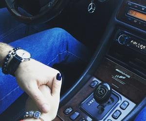 boy, bracelets, and car image