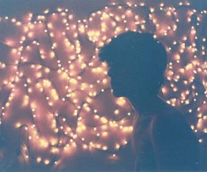 light and boy image