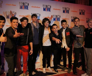 one direction, big time rush, and liam payne image