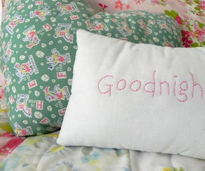 bed, cottage, and cushion image