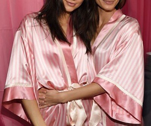 kendall jenner and Lily Aldridge image