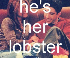 friends, lobster, and love image