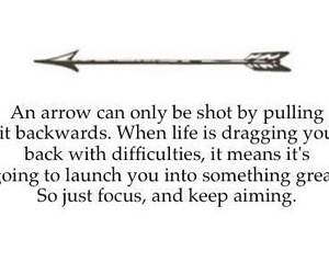 arrow, believe, and meaning image