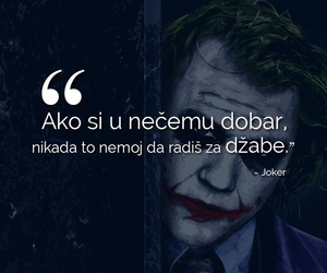 quote, Serbia, and joker image