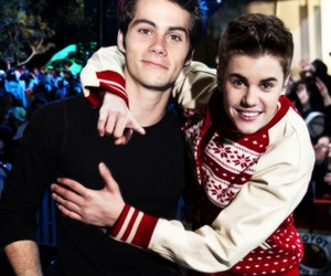 justin bieber and dylan o'brien image
