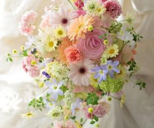 flowers, bouquet, and flores image